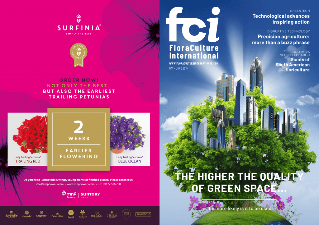 FCI | Surfinia® | Advertisement | MNP / Suntory