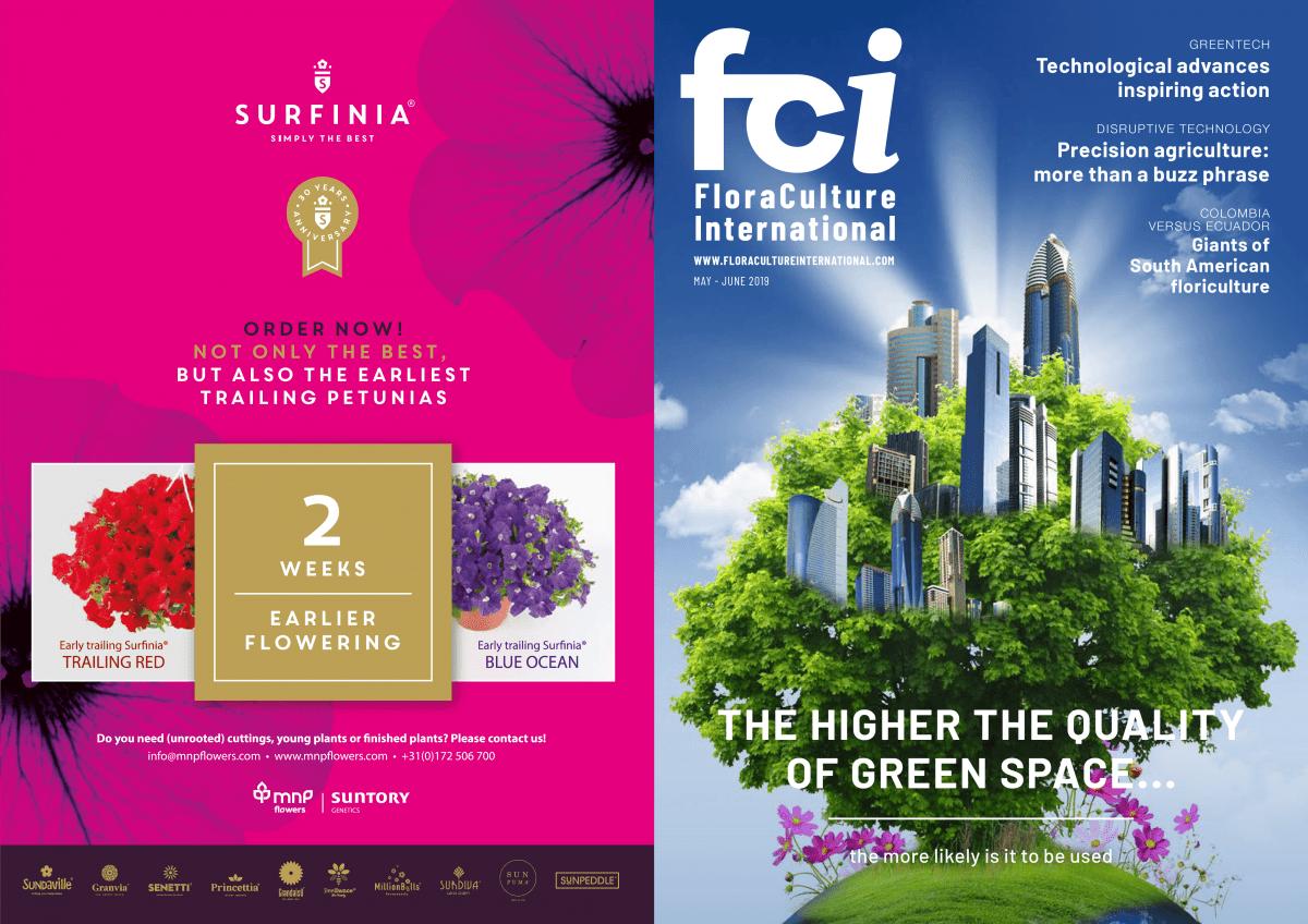 FCI | Surfinia® | Advertisement | MNP / Suntory