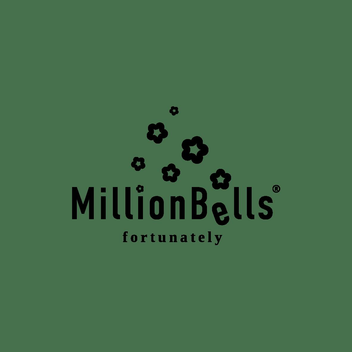 MillionBells logo black