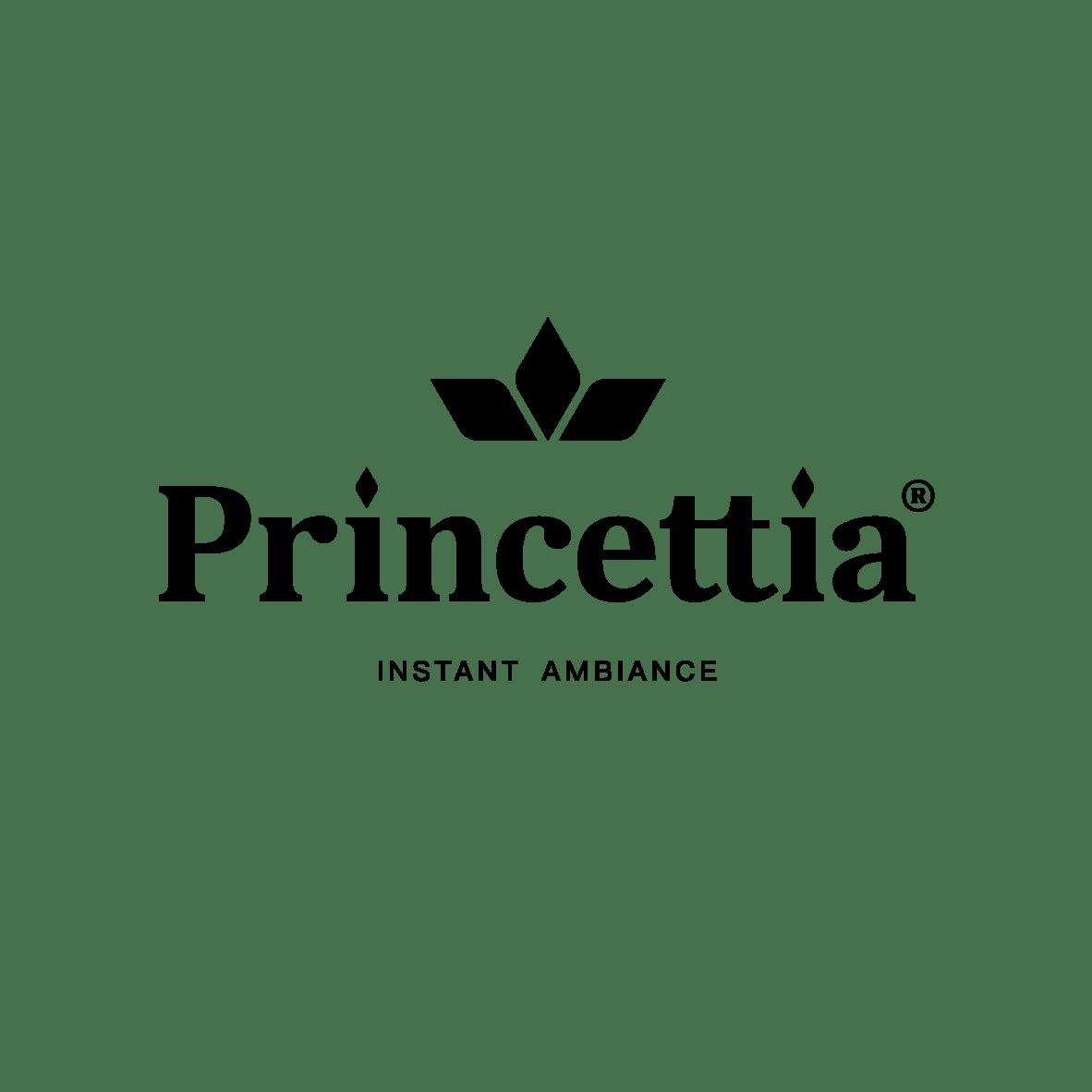Princettia logo black
