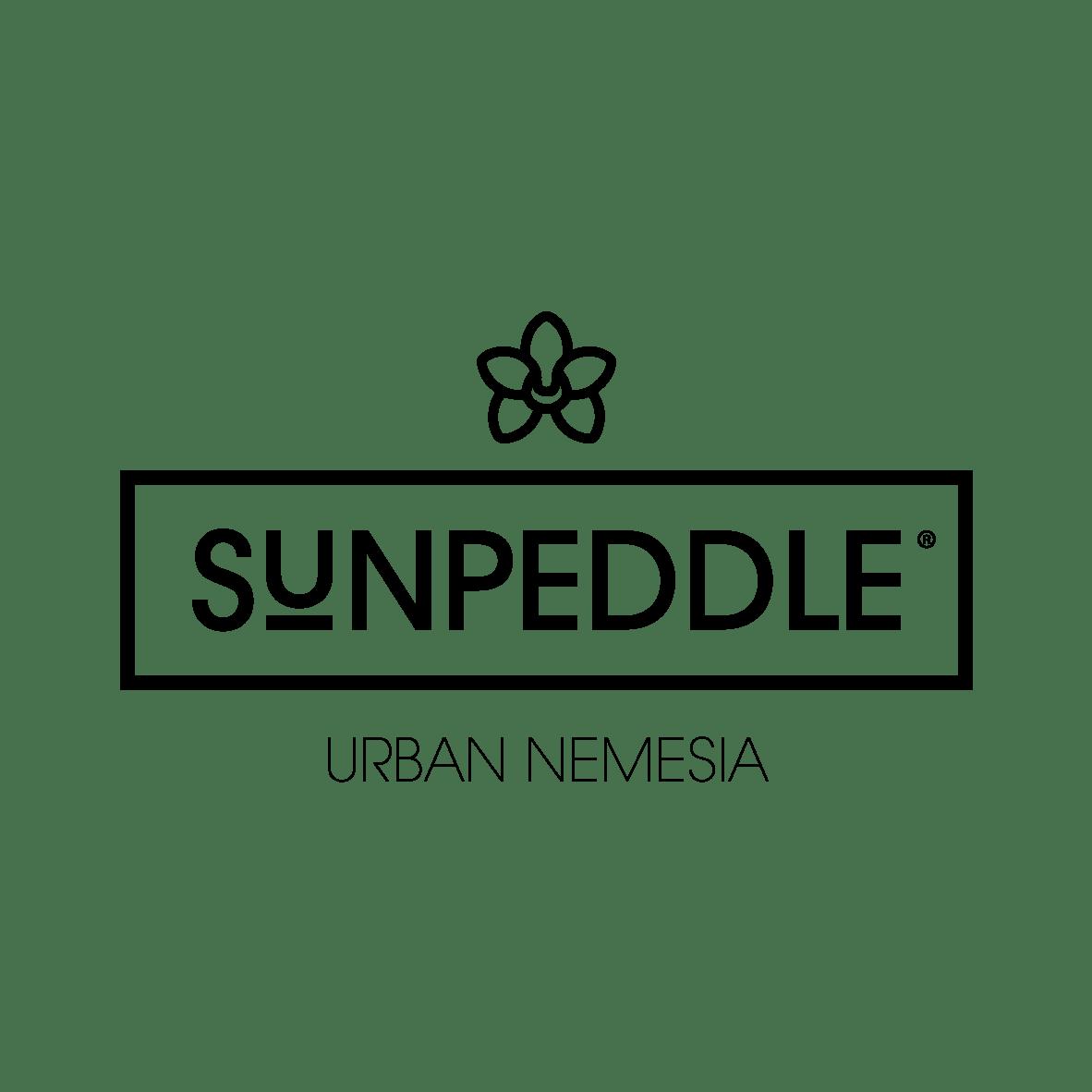 Sunpeddle logo black