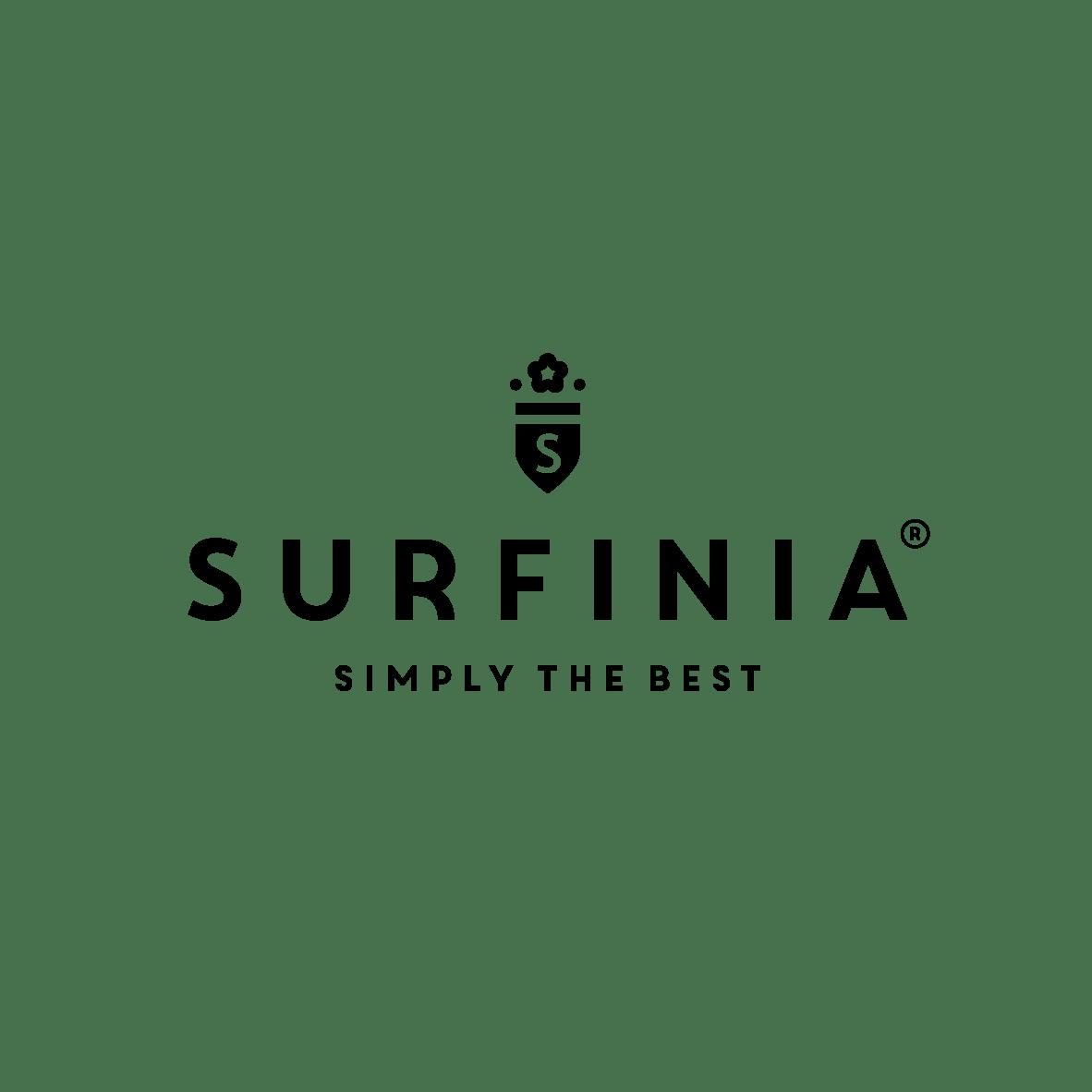 Surfinia logo black